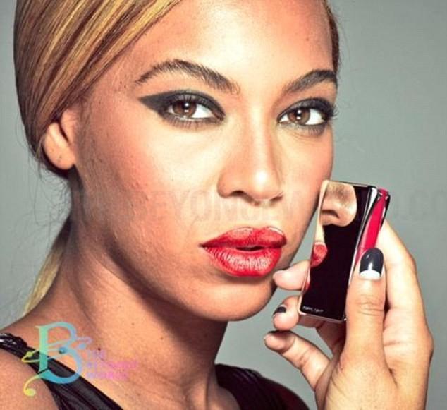Se filtran fotos de Beyoncé para L'Oréal antes de pasar por el Photoshop