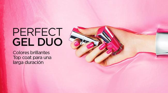 Perfect Gel Duo, los nuevos esmaltes de Kiko efecto gel