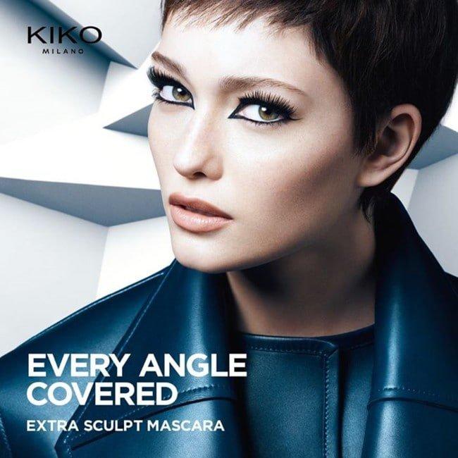 Extra Sculpt Mascara, la nueva máscara de pestañas de Kiko