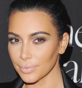 El selfie más natural de Kim Kardashian