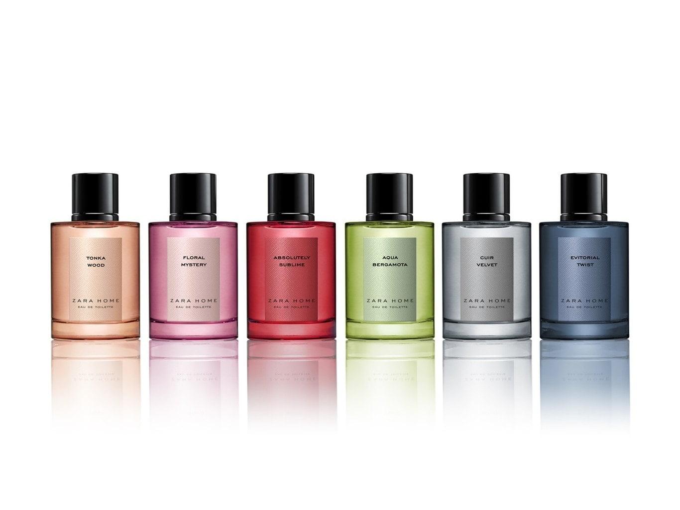 Llega The Perfume Collection, las nuevas fragancias de Zara Home