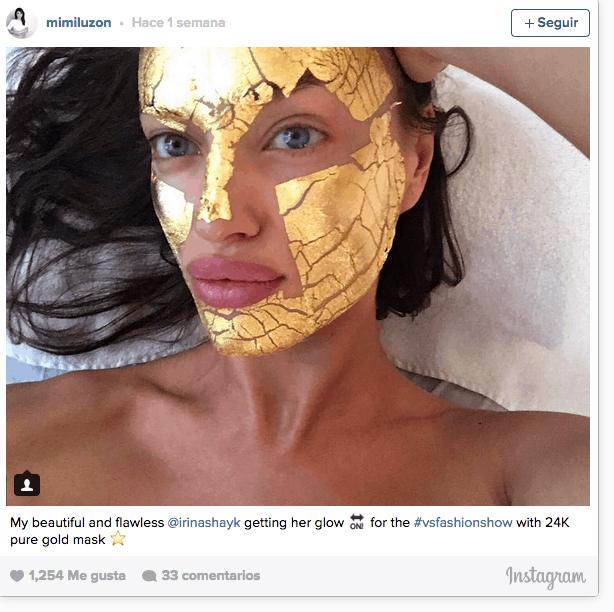 oro mascarilla