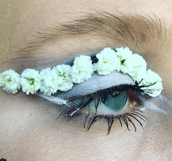 ojos flores